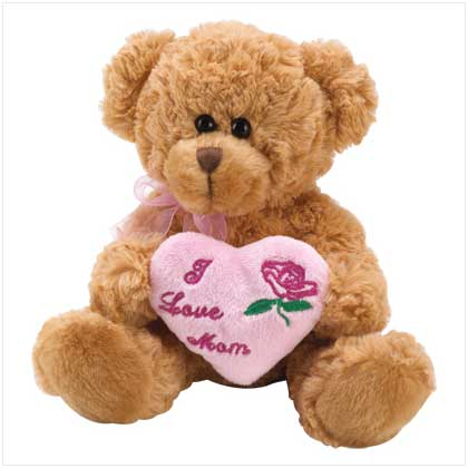 LOVE MOM teddy bear