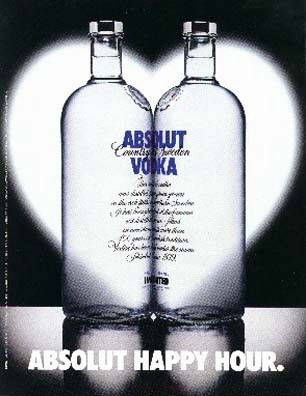 Absolut Happy Hour~Vodka