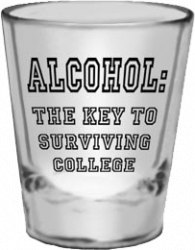 Alcohol~The key to surviving college