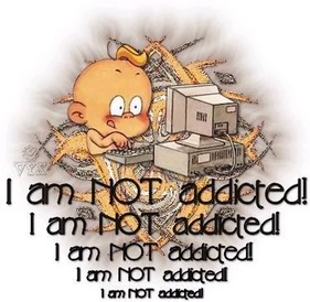 I am not addicted graphic