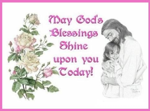 May gods blessings coolgraphic
