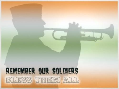 Remember our soldiers coolgraphic