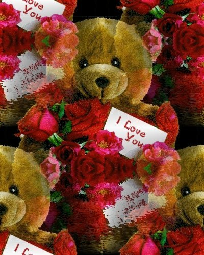Teddybear love cute