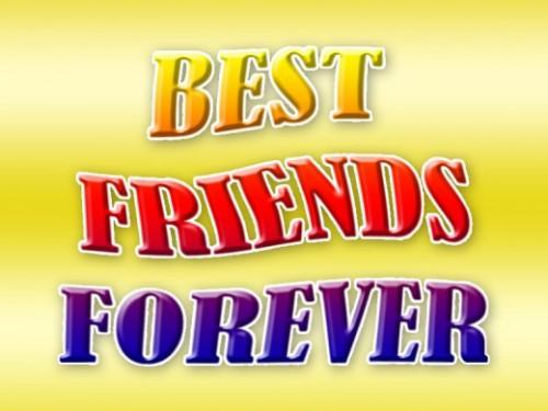 Friends forever graphics