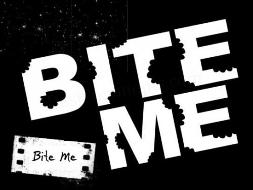 Bite me graphics