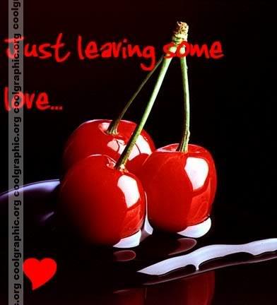 Cherry   glitter graphic