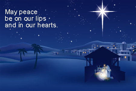 Peaceful Christmas Ecard