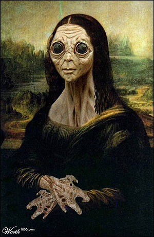 Mona Lisa Is An Alien