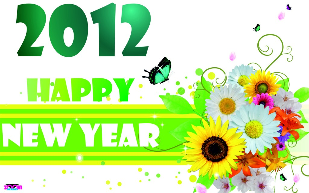Lovely 2012 Happy New Year Greeting