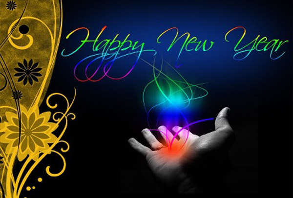 Wonderful Happy New Year Greeting
