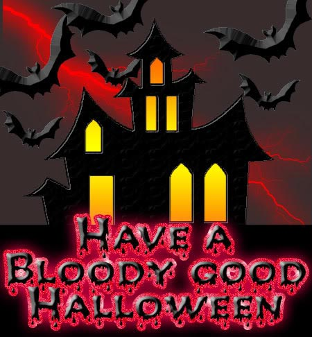 Have A Bloddy Good Halloween