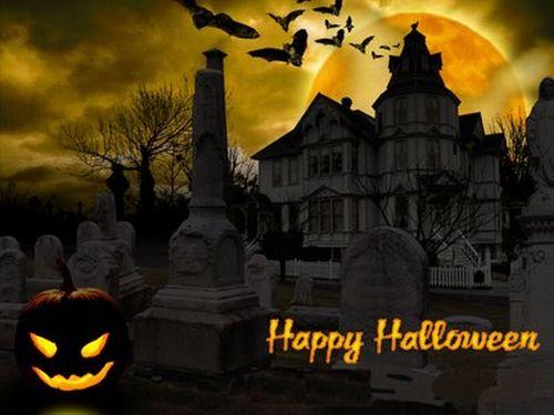 Happy Halloween Scrap for Hi5