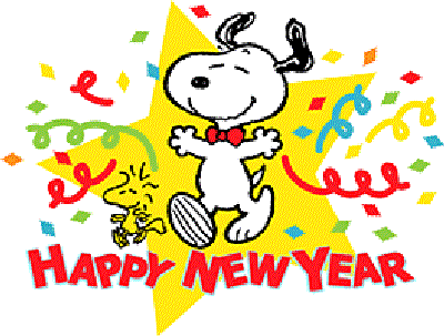 Cute Happy New Year Graphic