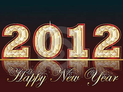 Marvelous Happy New Year 2012 Greeting