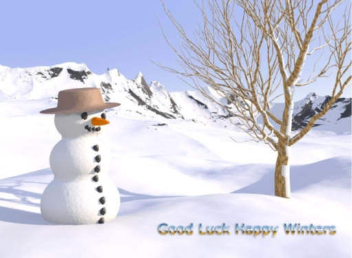 good luck happy winters greetings seasons graphics winter