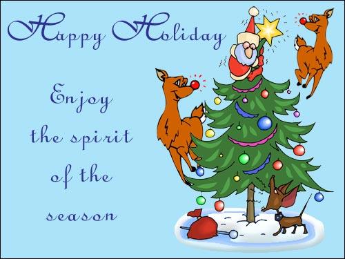 Happy Holiday Ecard