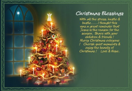 Charming Christmas Greeting Card