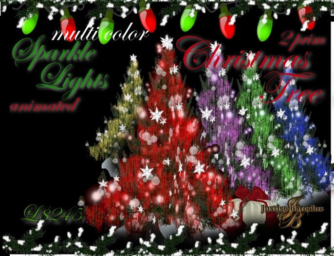 Sparkle Lights On Christmas Ecard