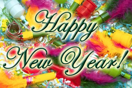Colorful New Year Graphic