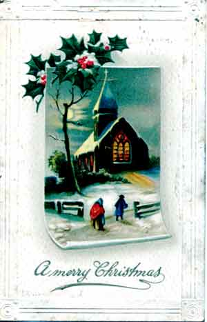 Elegant Christmas Greeting Card