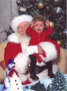 Baby Hate Santa Clause
