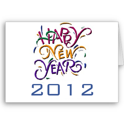 Happy New Year 2012 Ecard