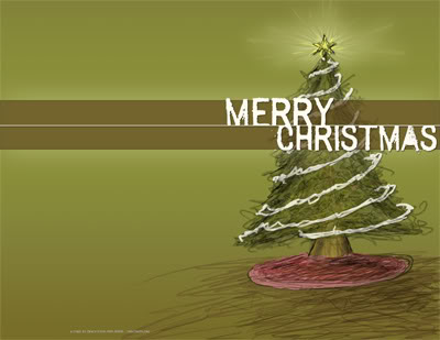 Elegant Christmas Greeting Card