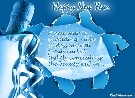 Happy New Year Ecard