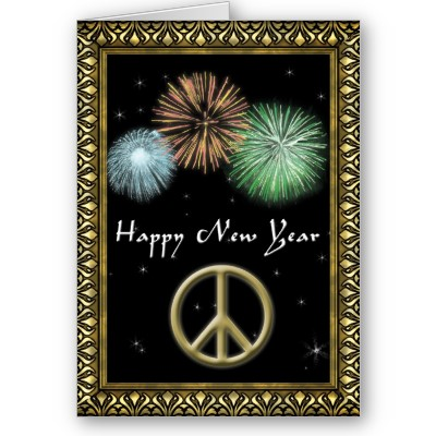 Elegant New Year Ecard