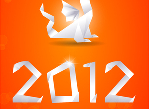 Nice 2012 New Year Graphic