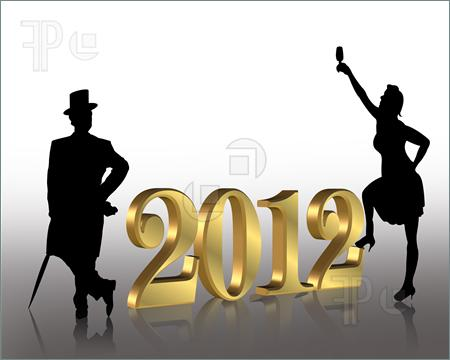 2012 New Year Greeting Card
