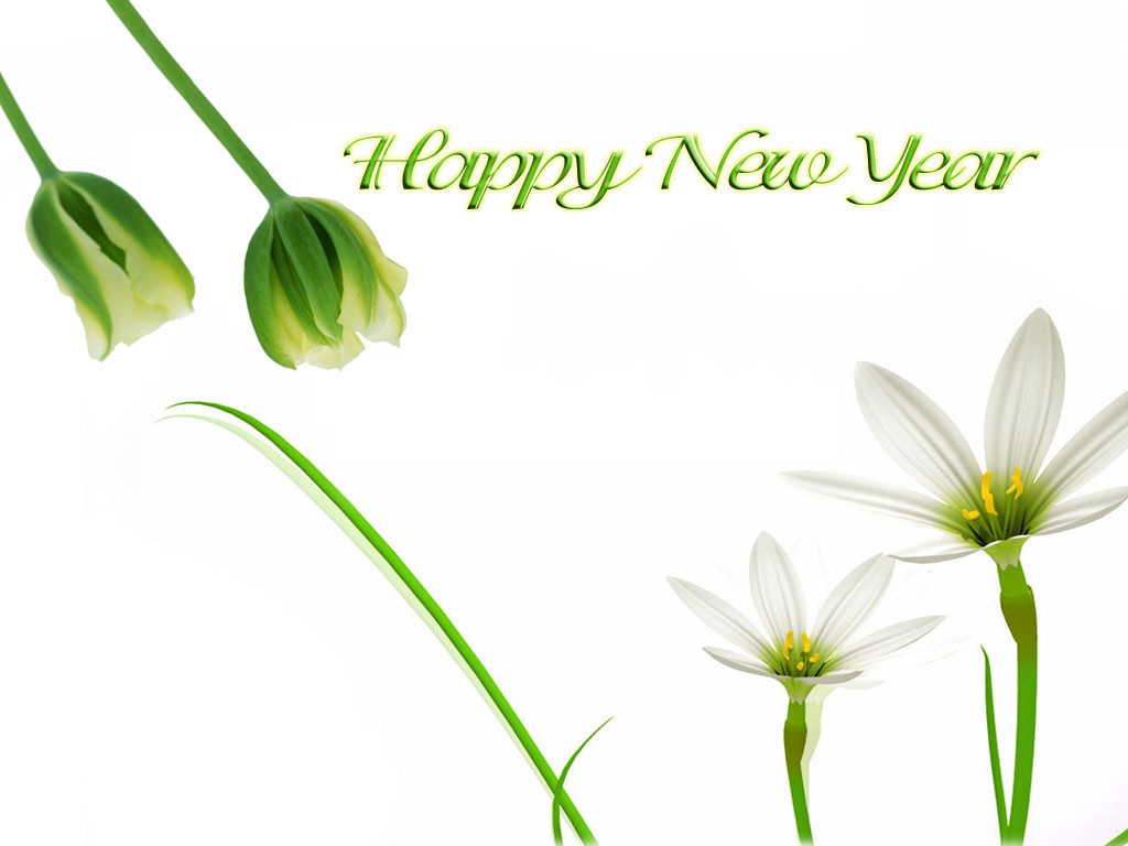 Charming New Year Greeting