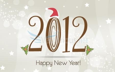 2012 New Year Graphic