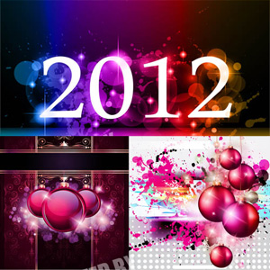 Happy New Year 2012 Graphic