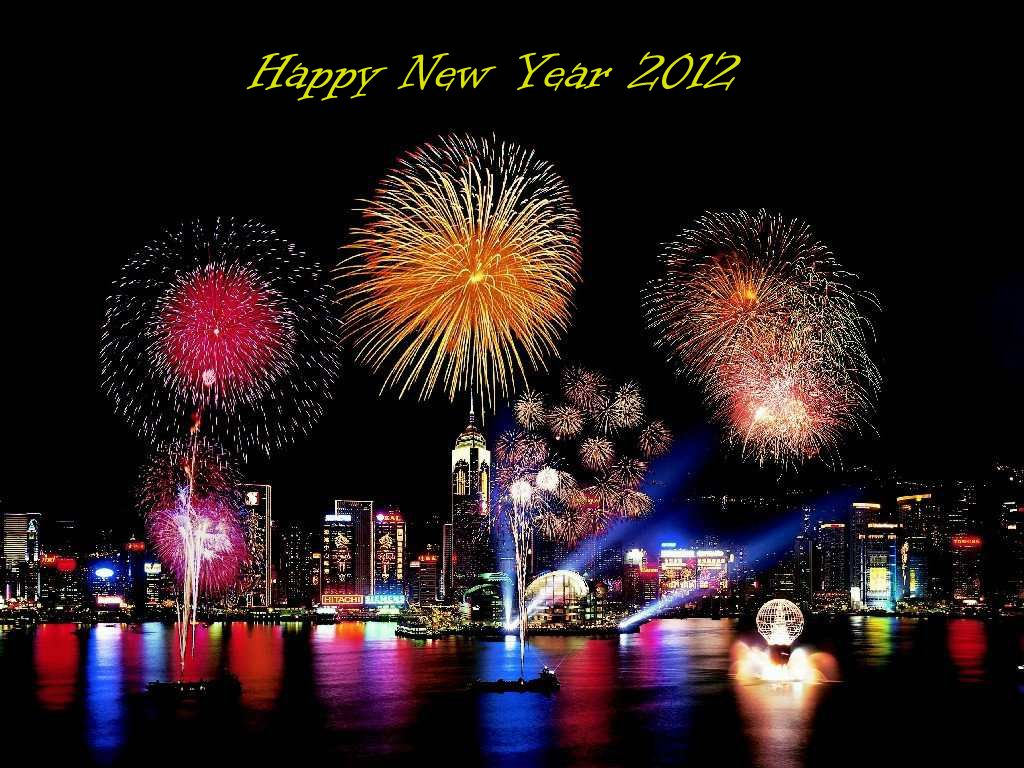 Terrific New Year 2012 Picture