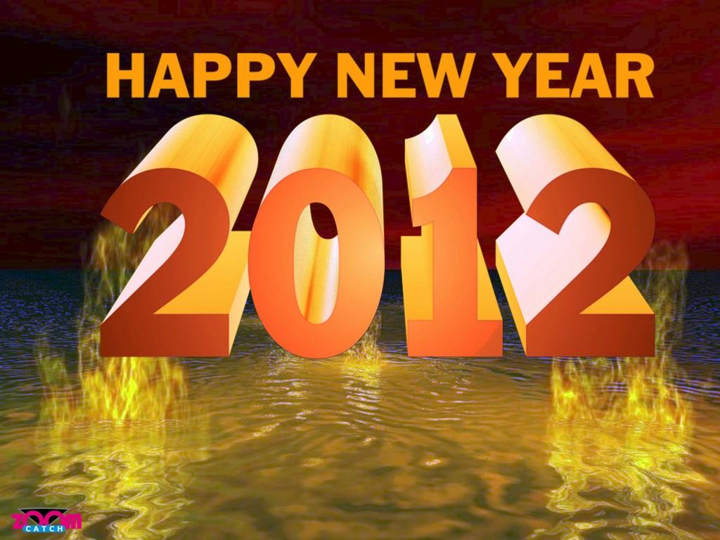 Beautiful New Year 2012 Ecard