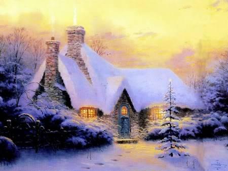 Adorable Winter Season Picture