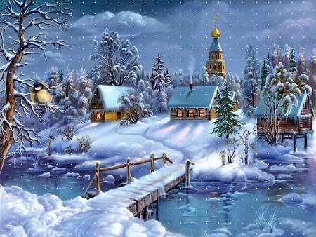 Beautiful Happy Winter Graphic