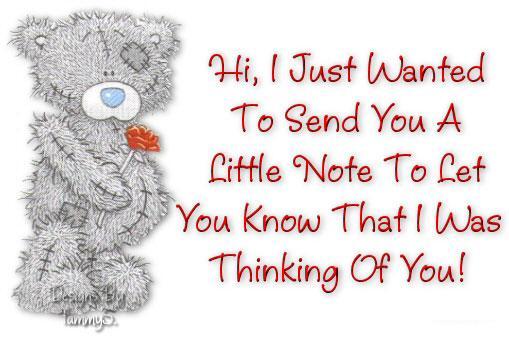 Sending You A Note