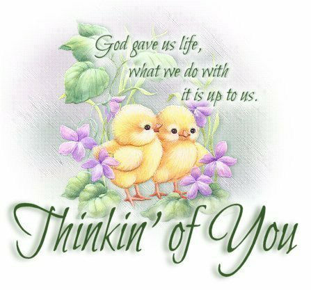 Beautiful Thinking of You Graphic