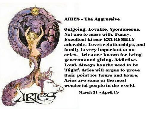 Aries - The Agressive