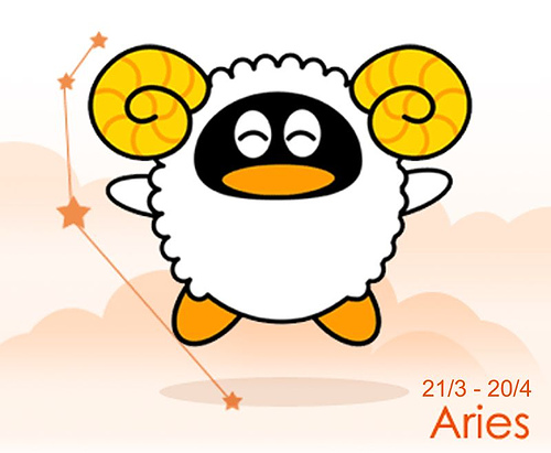 Aries Sun Sign Image
