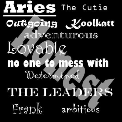 Aries Graphic for Facebook