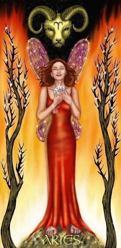 Charming Aries Card