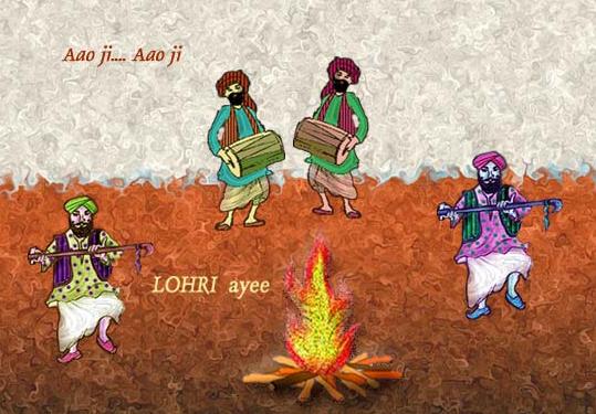 Aao Ji Lohri Ayee Hai - Happy Lohri
