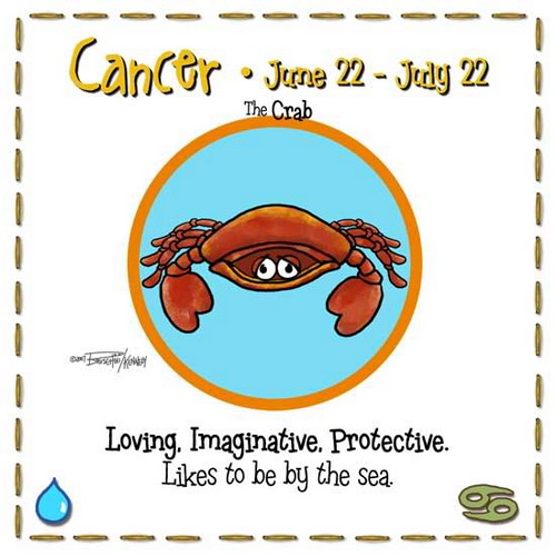 Sun Sign Cancer Ecard