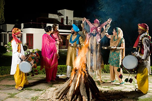 Celebrating Lohri Picture