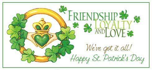 Friendship And Love St. Patricks Day