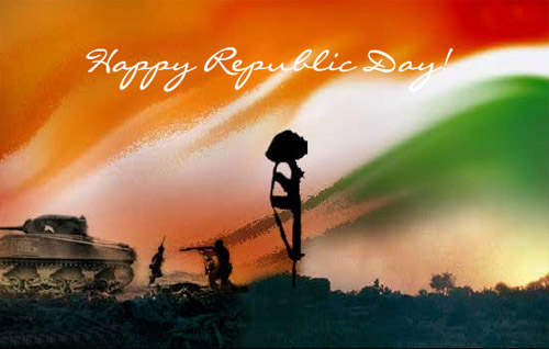 Glorious Republic Day Graphic