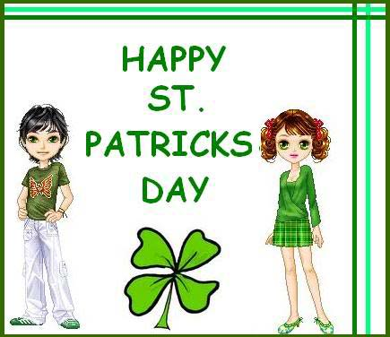 Happy St. Patricks Day Greeting Card
